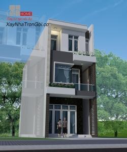 xây nhà trọn gói phà phố đẹp dang web
